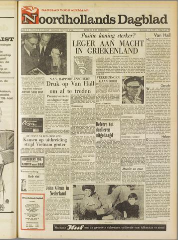 Noordhollands Dagblad : dagblad voor Alkmaar en omgeving 1967-04-21