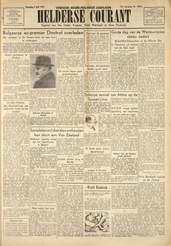 Heldersche Courant 1949-07-04