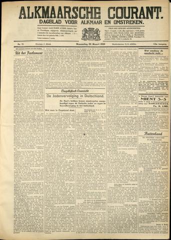 Alkmaarsche Courant 1933-03-29