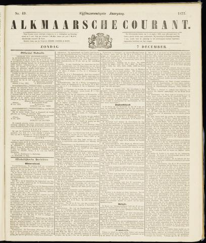 Alkmaarsche Courant 1873-12-07