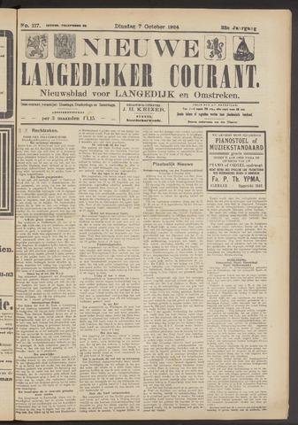 Nieuwe Langedijker Courant 1924-10-07