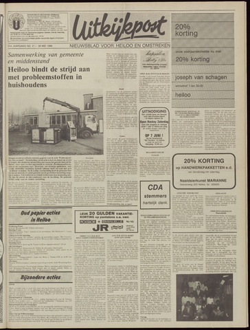 Uitkijkpost : nieuwsblad voor Heiloo e.o. 1986-05-28