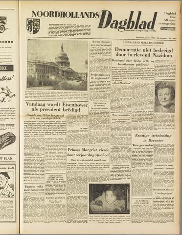 Noordhollands Dagblad : dagblad voor Alkmaar en omgeving 1953-01-20