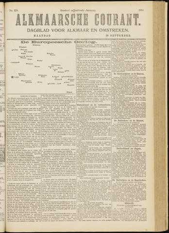 Alkmaarsche Courant 1914-09-28