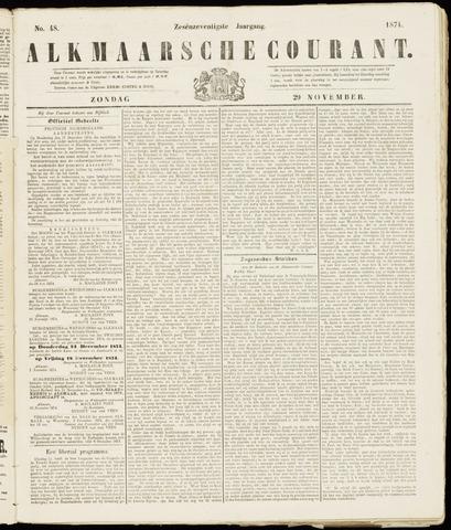 Alkmaarsche Courant 1874-11-29