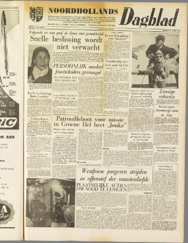 Noordhollands Dagblad : dagblad voor Alkmaar en omgeving 1959-04-07