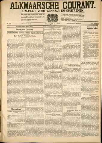 Alkmaarsche Courant 1934-06-26