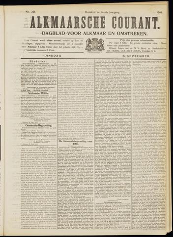 Alkmaarsche Courant 1908-09-22