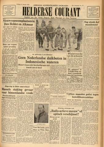Heldersche Courant 1955-01-21