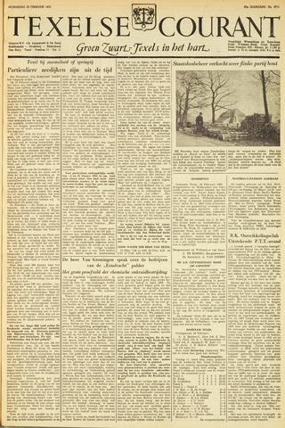 Texelsche Courant 1953-02-25
