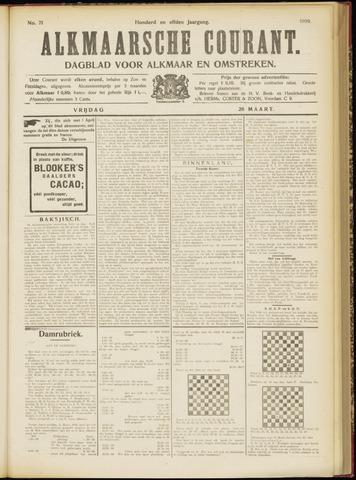 Alkmaarsche Courant 1909-03-26