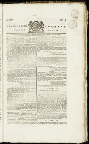 Alkmaarsche Courant 1836-04-04