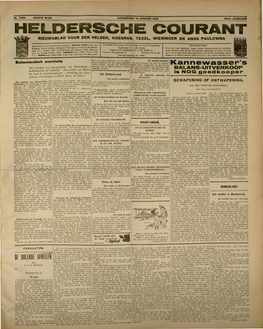 Heldersche Courant 1932-01-14