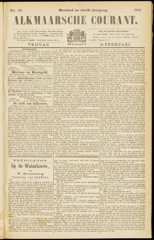 Alkmaarsche Courant 1902-02-14