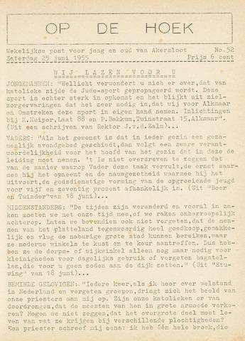 Op De Hoek, weekblad voor Akersloot 1955-06-25