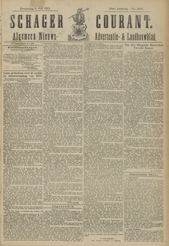 Schager Courant 1911-07-06
