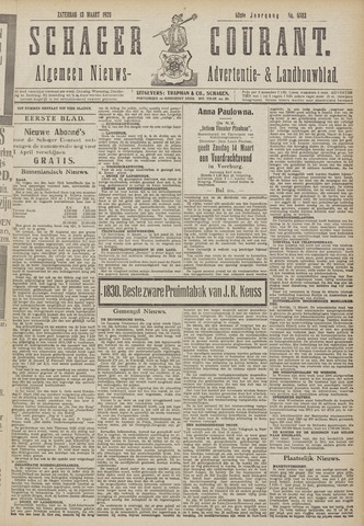Schager Courant 1920-03-13