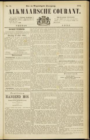 Alkmaarsche Courant 1894-07-06