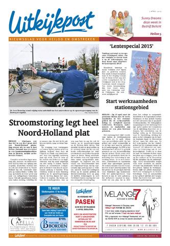 Uitkijkpost : nieuwsblad voor Heiloo e.o. 2015-04-01