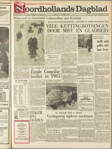 Noordhollands Dagblad : dagblad voor Alkmaar en omgeving 1964-12-28