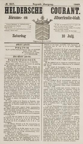 Heldersche Courant 1869-07-10