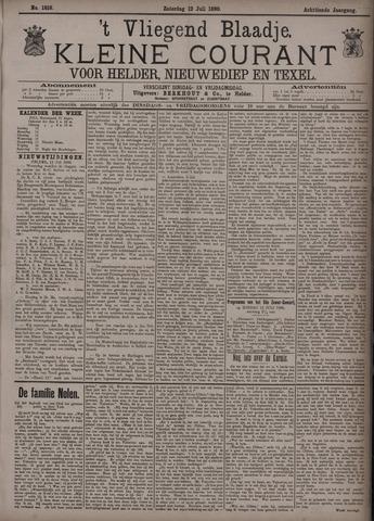 Vliegend blaadje : nieuws- en advertentiebode voor Den Helder 1890-07-12