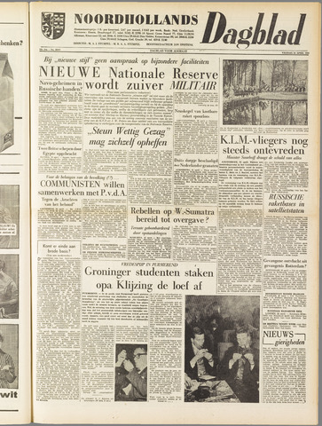 Noordhollands Dagblad : dagblad voor Alkmaar en omgeving 1958-04-25