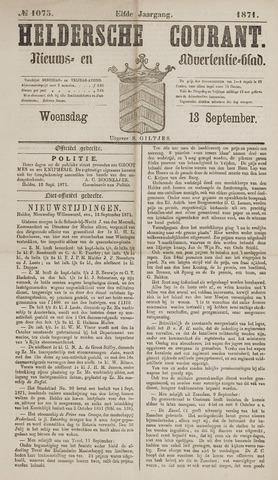 Heldersche Courant 1871-09-13