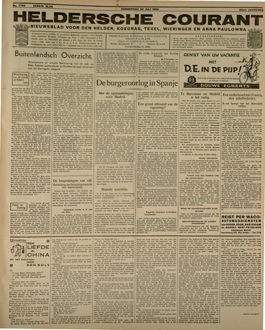 Heldersche Courant 1936-07-30