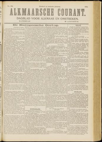 Alkmaarsche Courant 1914-08-29