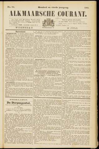 Alkmaarsche Courant 1902-07-16