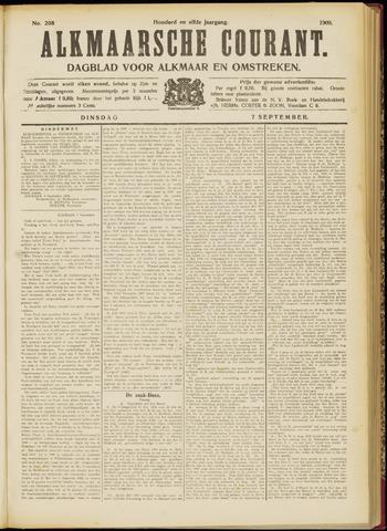 Alkmaarsche Courant 1909-09-07