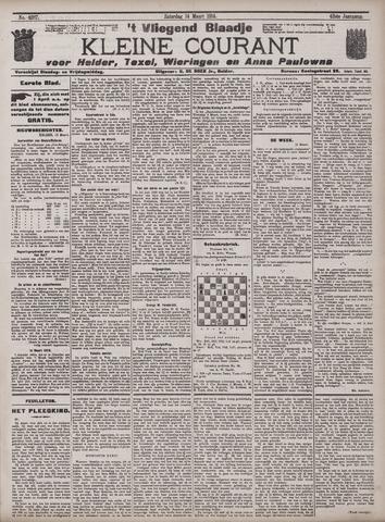 Vliegend blaadje : nieuws- en advertentiebode voor Den Helder 1914-03-14