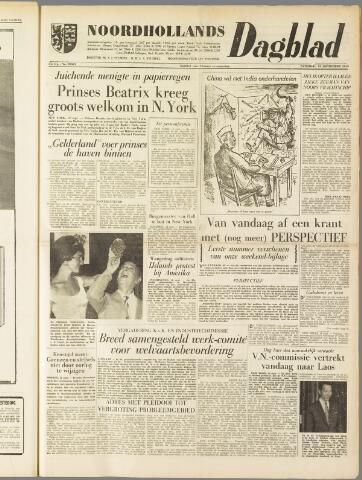 Noordhollands Dagblad : dagblad voor Alkmaar en omgeving 1959-09-12