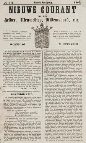 Nieuwe Courant van Den Helder 1864-12-21