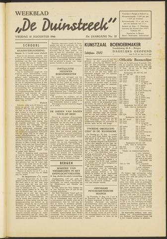 De Duinstreek 1946-08-16