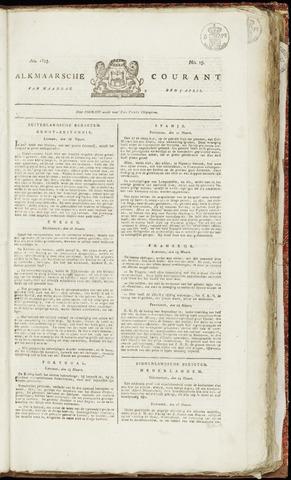Alkmaarsche Courant 1823-04-07
