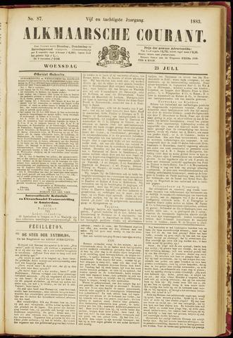 Alkmaarsche Courant 1883-07-25