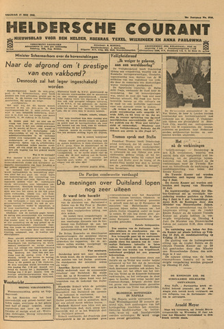 Heldersche Courant 1946-05-17