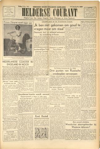 Heldersche Courant 1952-01-18
