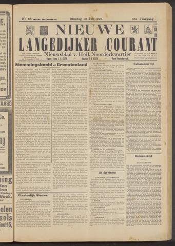 Nieuwe Langedijker Courant 1929-07-23