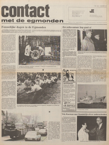 Contact met de Egmonden 1980-05-07