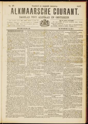 Alkmaarsche Courant 1907-02-13