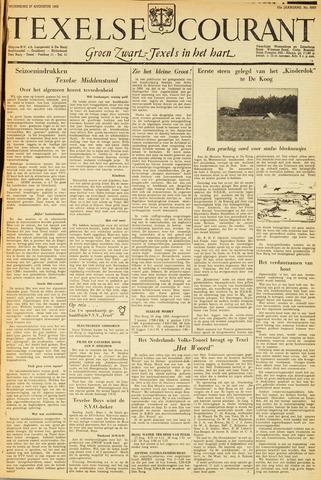 Texelsche Courant 1952-08-27