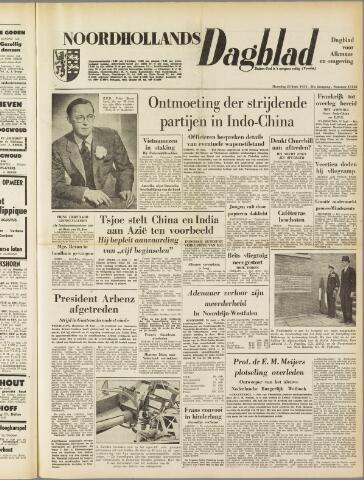 Noordhollands Dagblad : dagblad voor Alkmaar en omgeving 1954-06-28
