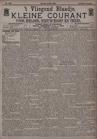 Vliegend blaadje : nieuws- en advertentiebode voor Den Helder 1890-05-10