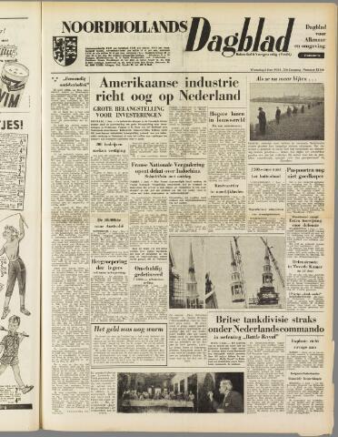 Noordhollands Dagblad : dagblad voor Alkmaar en omgeving 1954-06-02
