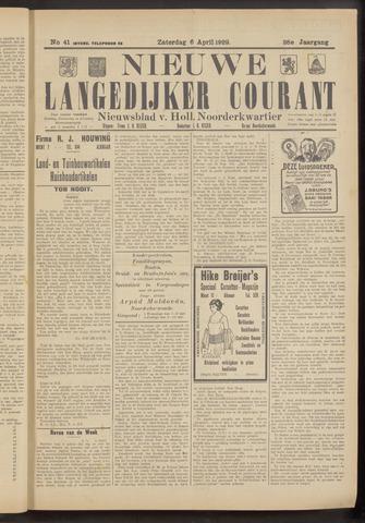 Nieuwe Langedijker Courant 1929-04-06