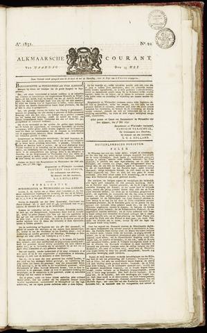 Alkmaarsche Courant 1831-05-23