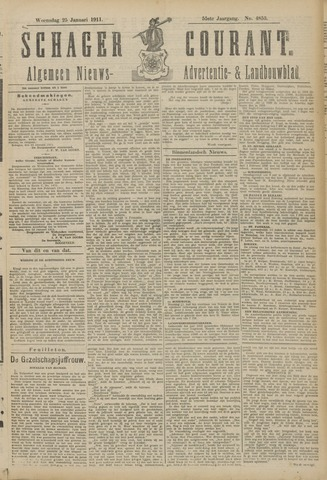Schager Courant 1911-01-25